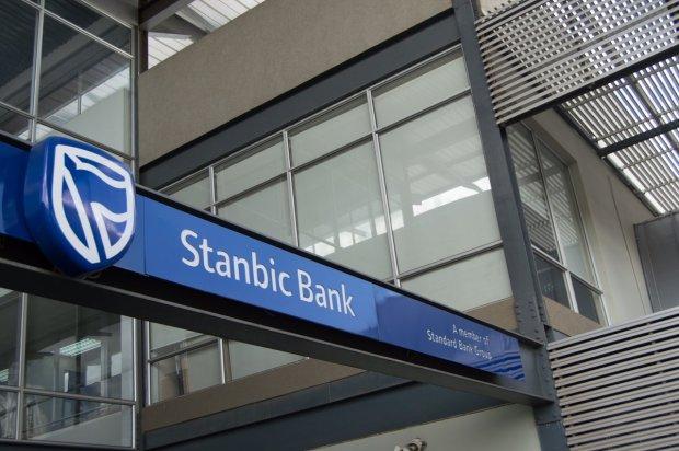 Stanbic Bank: backing mining.