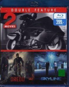Dredd + Skyline /เดร็ด คนหน้ากากทมิฬ + สงครามสกายไลน์ ดูดโลก (BD 2 Movies Double Feature 1 Disc) (BD 2IN1)