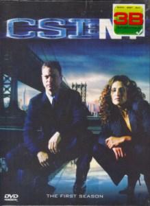 Boomerang CSI New York Season 1 /ไขคดีปริศนา นิวยอร์ก ปี 1 (DVD Box Set 6 Disc)