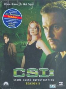 Boomerang CSI Crime Scene Investigation 05/ไขคดีปริศนา เวกัส ปี 5 (6 Disc Digipack - Metal Box Set)