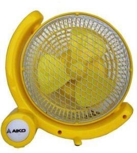 AIKO พัดลมตั้งโต๊ะ 6 นิ้ว AK-366 - สีเหลือง