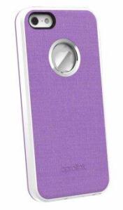 Aprolink เคสสำหรับ iPhone SE / 5S / 5 รุ่น IPF512 Luminious (Purple)