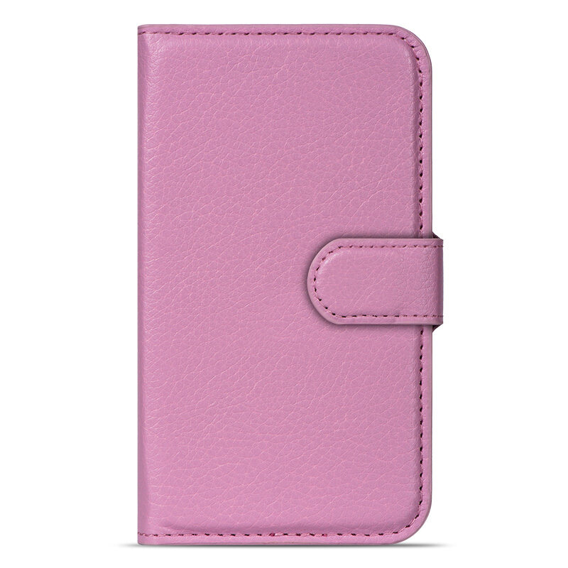 BUILDPHONE PU Leather Phone Plain Color Cover Case for LG G2 mini (Pink) – intl