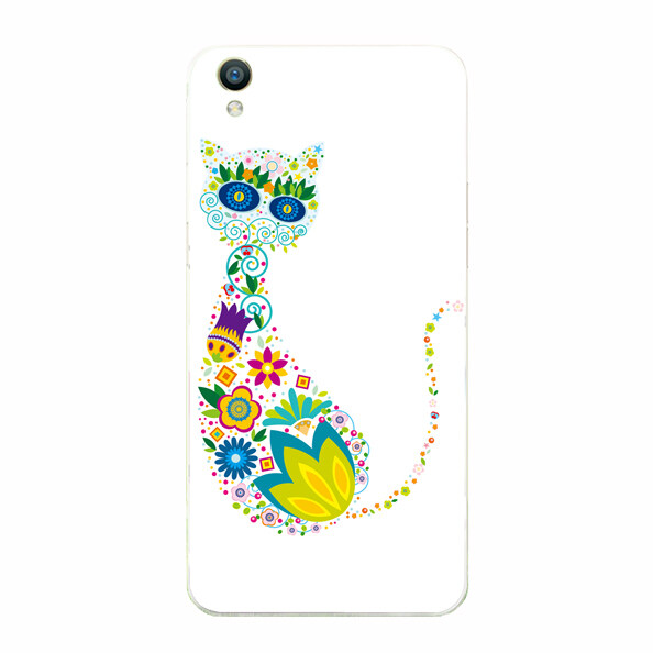 BUILDPHONE TPU Soft Phone Case for OPPO R2001R2017 with Tempered Glass Screen Guards (Multicolor) – intl