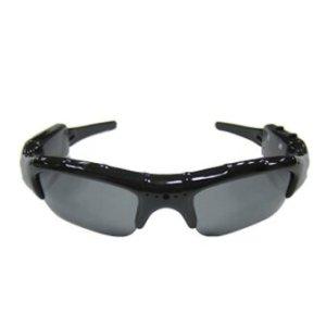 Babybearonline กล้องแว่นตากันแดด รุ่นพิเศษมี MP3 ในตัว - Black