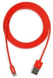 AHHA Sync & Charge Lightning Cable 1.2 M - Red