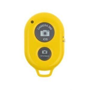 Remote Shutter แบบไร้สาย สำหรับมือถือ IOS และ Android (สีเหลือง)