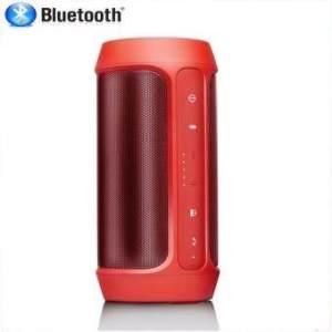 Center Bluetooth Speakers Charge 2+ ลำโพงบลูทูธแบบพกพา เสียงเบสกระหึ่ม สามารถใช้เป็น PowerBank ได้ (Red)