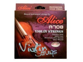 ALICE Violin String รุ่น A708 - Silver