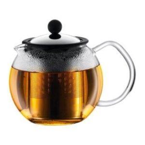 Bodum Assam tea press 1.0l/34oz.1801-16 (Stainless Steel)