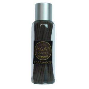 AgarHarvest ธูปแท่งญี่ปุ่น ไม้หอม ไม้กฤษณา แท้ Pure Fragrance Agarwood Incense Japanese (Stick Premium Grade 50 แท่ง)