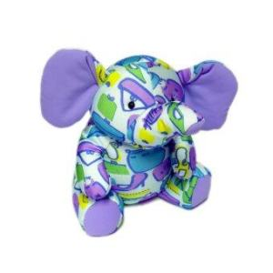 Admire Home Collection หมอน Softee Pillows Elephent Sittng (Blue/Violet)