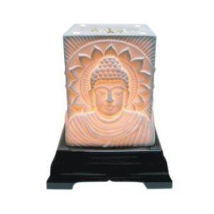 Aroma Space โคมไฟอโรม่า Porcelain Aroma Lamp (Big Buddha)