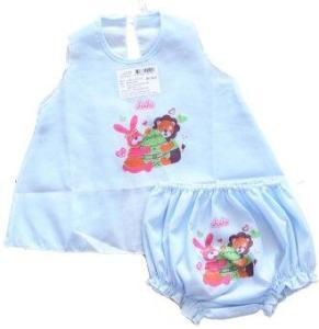 Attoon ชุดเด็กแรกเกิด ผู้หญิง - สีฟ้า