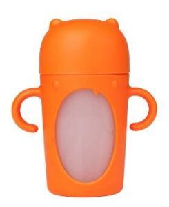 boon Soft Spout Sippy แก้วน้ำหัดดื่ม ขนาด10oz (สีส้ม)