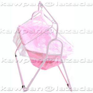Attoon เปลองค์หญิง+ มุ้งกันยุงและแมลง รุ่น Classic สีชมพู