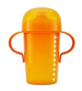 boon Sippy แก้วน้ำหัดดื่ม ขนาด 10oz (สีส้ม)