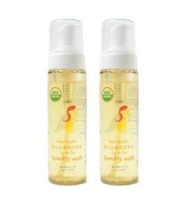 Angel organics USDA top-to-toe Foaming wash 220 ml (2 Bottles)