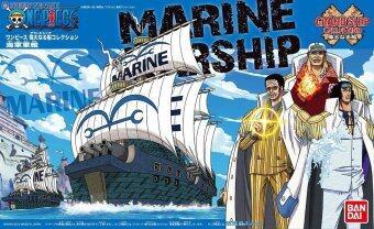 Bandai One Piece วันพีซ - Marine Warship (Plastic model)