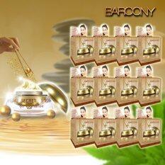 Barcony Secret By Susan รุ่นพิเศษครีมไข่มุกสีทอง 5g. แพ็ค 12 กล่อง
