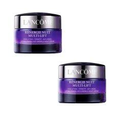 Lancome Renergie Multi-Lift night Cream 15ml (ชุด2ชิ้น)