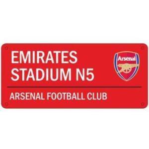 Arsenal ป้ายสโมสรอาร์เซนอล - Emirates Stadium N5 Asenal Football Club