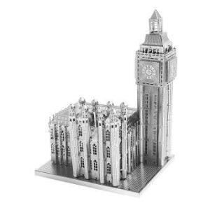 3D Mini Metal Puzzles Big Ben - Silver