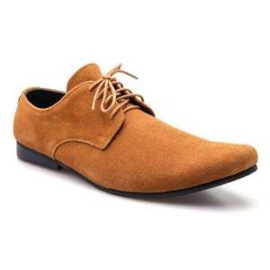 Brown Stone รองเท้าหนัง รุ่น L008 - Tan