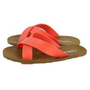 blackOut รองเท้าแตะ รุ่น BO-1001 สีน้ำตาล หูสีส้ม-ส้ม