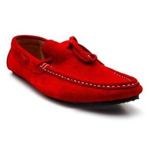 Brown Stone รองเท้าหนังทรง Casualist Loafer รุ่น D016 - Ruby Red