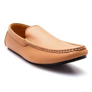 Brown Stone รองเท้าหนังทรง Casualist Loafer รุ่น D017 - Soft Creme