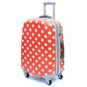 Ambassador Luggage กระเป๋าเดินทาง 20 นิ้ว รุ่น POLKA ZT922007 - สีแดง
