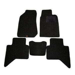 Blackhole Carmat พรมรถยนต์เข้ารูป 2 ชั้น Isuzu All new D-MAX-4Door ปี 2012-ปัจจุบัน Black + Rubber Pad รุ่น JISDMWBR-4(สีดำ)