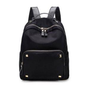 RN Bag กระเป๋าสะพายหลัง กระเป๋าแฟชั่น ผู้หญิง กระเป๋าเป้เกาหลี รุ่น RP-101 (สีดำ)