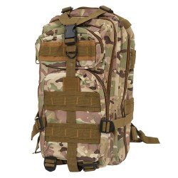 30L Outdoor Sport Military Backpack Rucksacks Camping Hiking Trekking Bag CP Camouflage