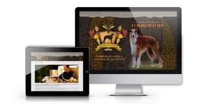 imagem computador e tablet mostrando o site adequado a cada plataforma.