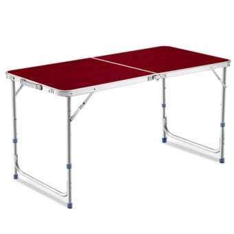 GIOCOSO โต๊ะปิคนิค โต๊ะสนาม พับได้ รุ่น T2 (สีแดง)