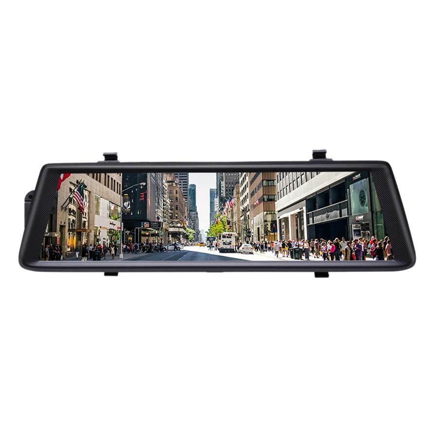 hight resolution of camlive mirror dash camera 10 inch ips 4g gps navigation bluetooth hd1080p dual cams wifi mirror