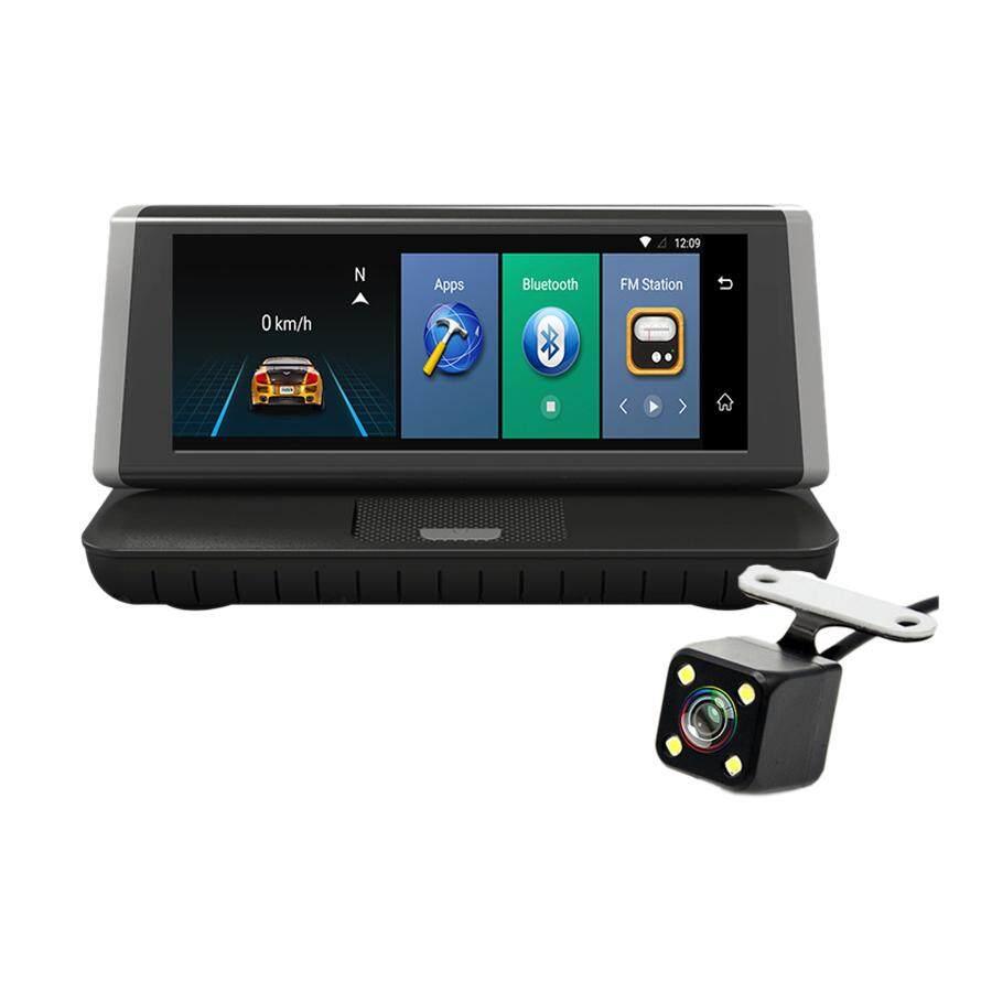medium resolution of camlive 4g 8 inch bluetooth gps navigation car camera hd1080p dual cams remote monitor function car