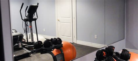 Homegymmirrors Mirrors Contemporary Home Gym Toronto By Jj Home Guest Blog The Ultimate Home Gym Essentials Thehome Com