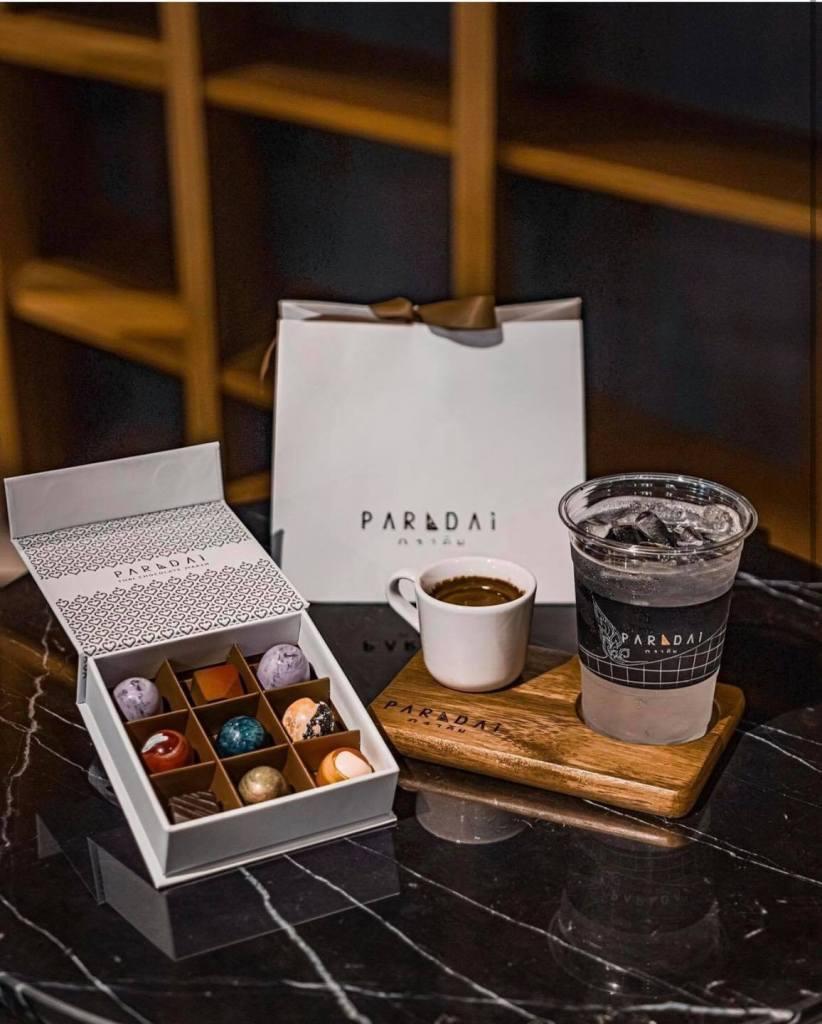 PARADAi Crafted Chocolate & Cafe แพ็กเกจของฝาก