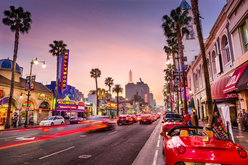 Hollywood Walk of Fame – Hollywood Boulevard