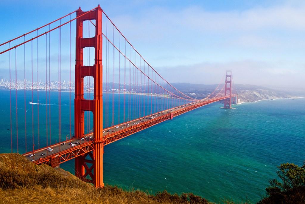 สะพานโกลเดนเกต (Golden Gate Bridge)