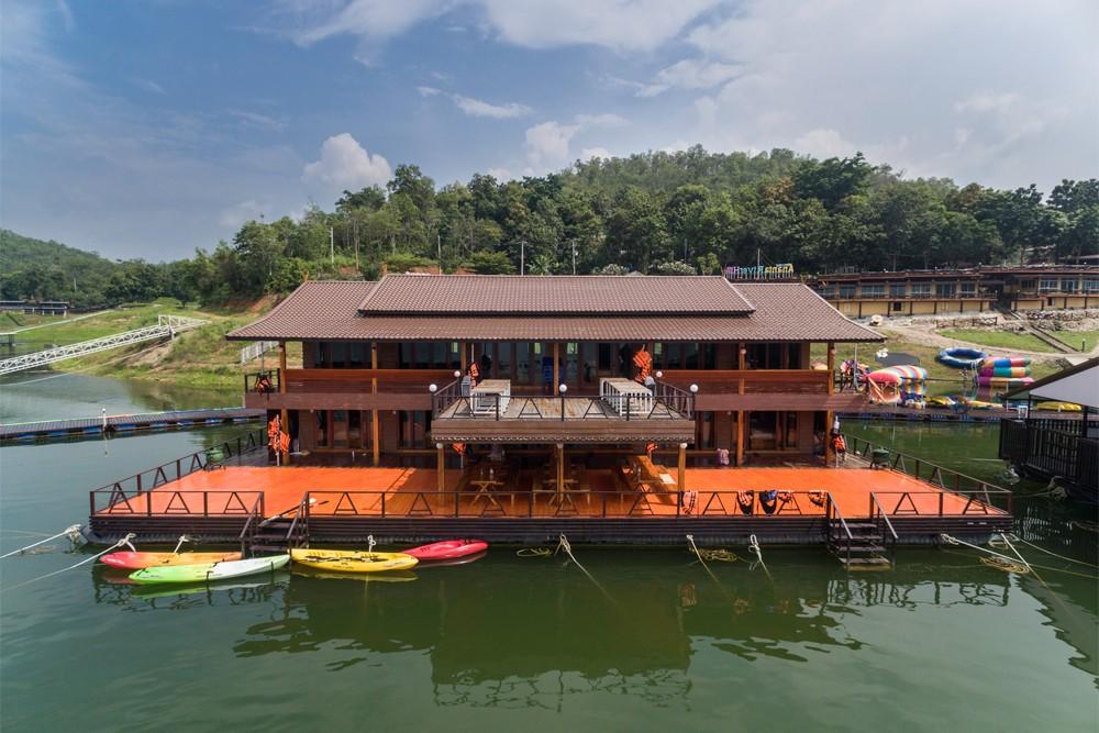 8 รีสอร์ทแนะนำจังหวัดกาญจนบุรี อนันตาริเวอร์ฮิลส์ (Ananta River Hills Resort)