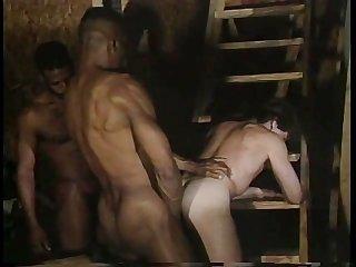 Glory holes 2 white men black cocks scene 1