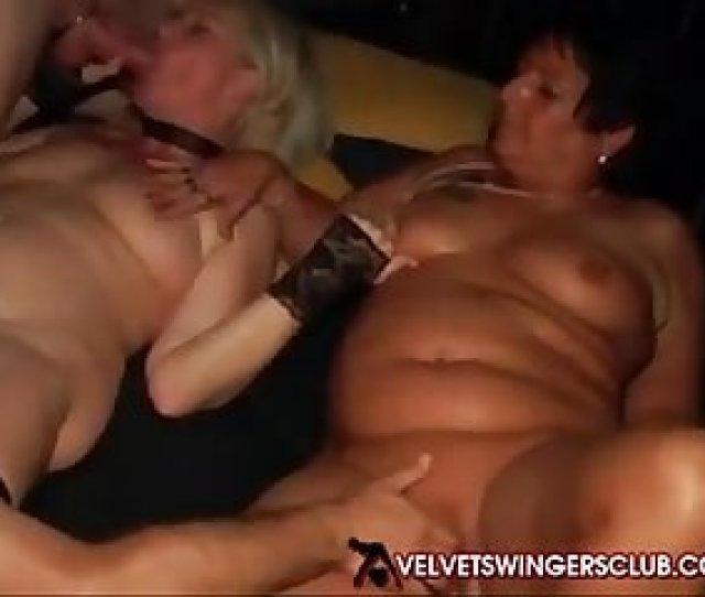 Velvet Swingers Club Party With Mature Slut Wives
