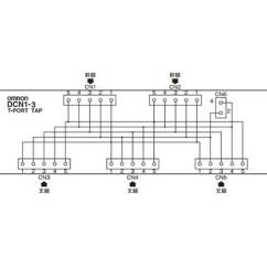 Omron Temperature Controller Wiring Diagram 2000 Pontiac Grand Am Speaker Drs1 T Devicenet Peripheral Equipment Misumi Thailand Internal Circuit