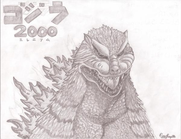 Godzilla 2000 by Fayt808 on DeviantArt
