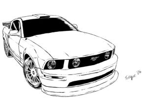 Ford Mustang GT-500 by UltimateRT on DeviantArt