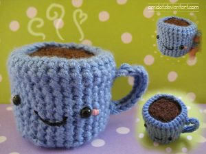 amigurumi coffee by *amidot